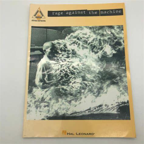 Rage Against the Machine Song Book Sheet Music Guitar   eBay