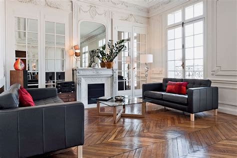 alluring style   modern paris apartment
