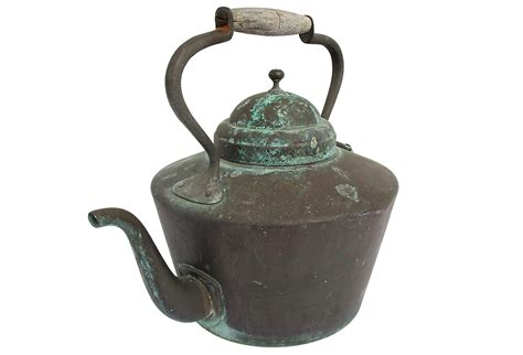 kettle patinated copper french