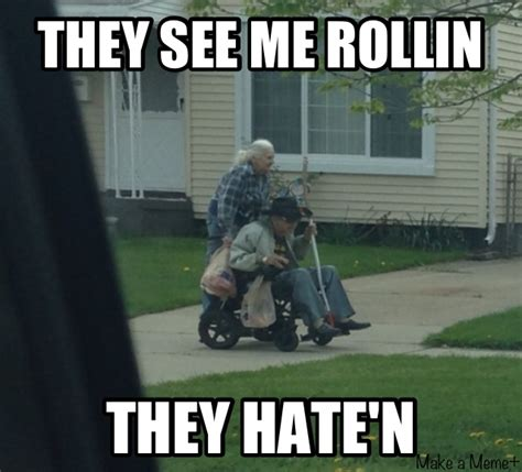 They See Me Rollin They Hatin Meme - they see me rollin they see me rollin know your meme