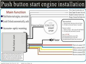 2013 Newest  Dedicated Type Start Engine With Button