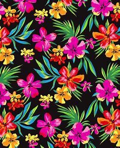 Hawaiian Flower Wallpaper - WallpaperSafari