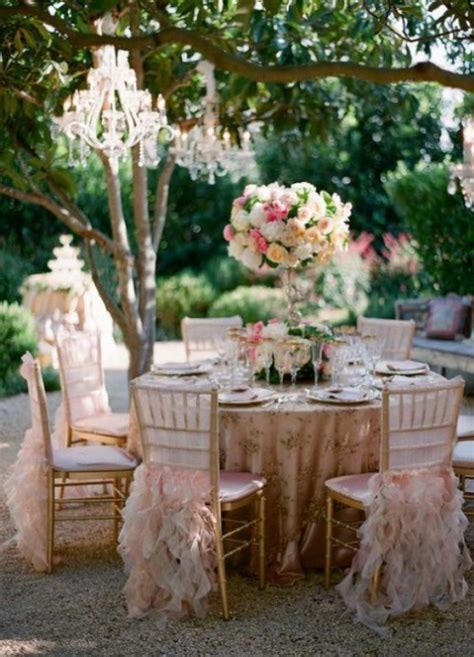 wedding table decorations for outside glamorous bling themes archives weddings romantique