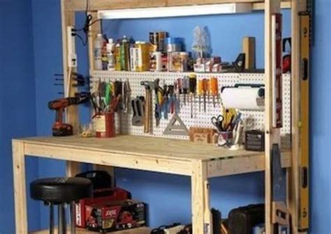 diy craft table workbench  potting table ideas bob vila