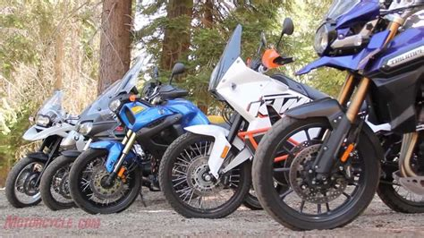 2012 Adventure Touring Motorcycle Shootout
