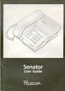 Bt Senator  U0026 Abassador Ess Phone System Instruction Manual