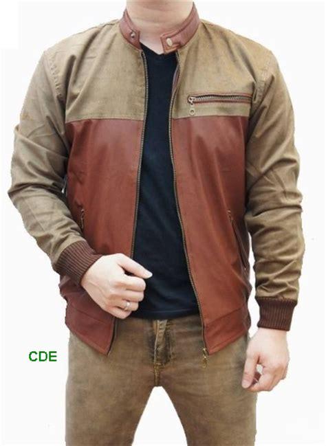 cde jaket kulit model pria