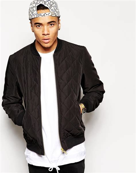 mens quilted bomber jacket bomber jacket quilted jacket to