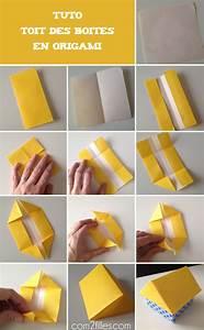 Comment Faire Une Boite En Origami : diy des boites en forme de maison en papier origami ~ Dallasstarsshop.com Idées de Décoration