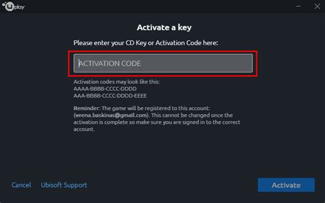 activate  uplay cd key