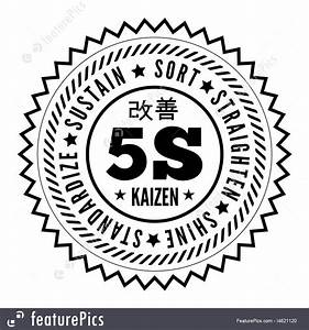Kaizen Symbol Stock Illustration I4621120 At Featurepics