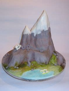 ideas  mountain cake  pinterest waterfall