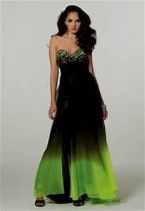 lime green and black prom dresses Naf Dresses