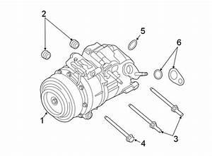 Lincoln Mkx A  C Compressor