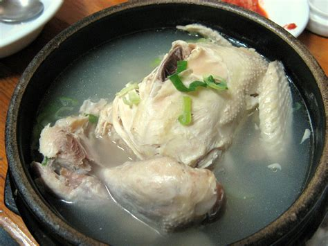 how to par boil chicken file korean chicken soup samgyetang 01 jpg wikimedia commons