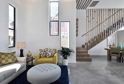 luchadors   living room austin interior design