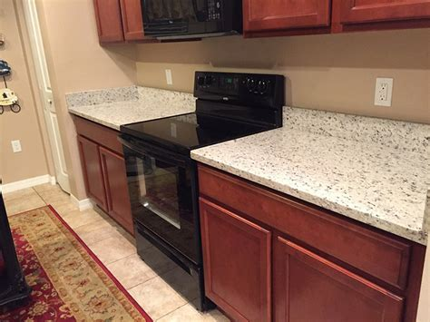 Branco Dallas Granite Countertops Installation Kitchen