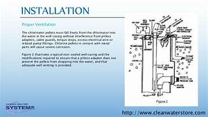 Well Protector Dry Pellet Chlorinator Installation