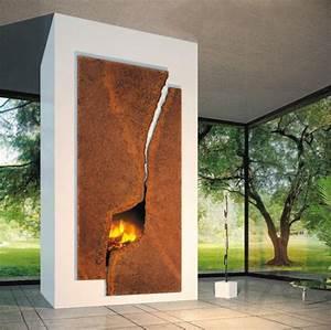 Cheminée Bois Design : poeles et chemin es design au bois focus focus ~ Premium-room.com Idées de Décoration