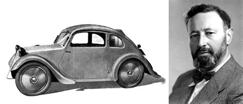 ferdinand porsche beetle josef ganz the real inventor of the vw beetle diseno