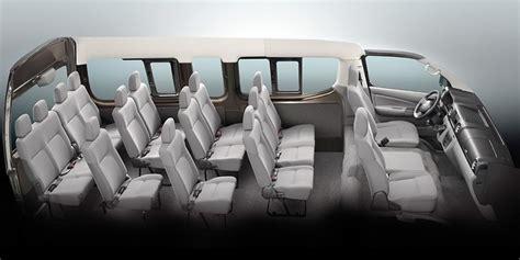 nissan urvan 2013 interior nissan nv350 urvan 18 seater premium escapade price