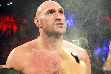 Tyson Fury labelled 'first Brit heavyweight with English ...