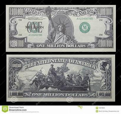 Dollar Million Bill Money American Mill Note