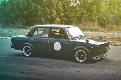 Lada Vintage by Lada 2105 Midori Gojira Lada Russian Car Vintage Cars