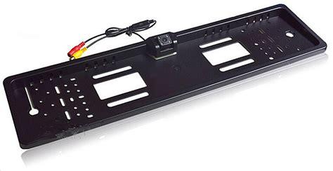 porta targa auto portatarga con telecamera posteriore wireless porta