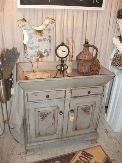 old dry sink .Could use old small dresser with large