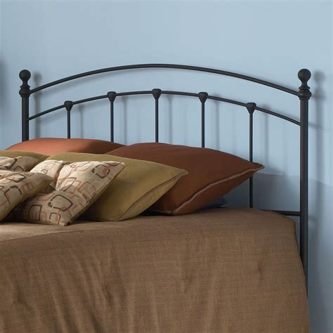 Bed Headboards by King Arched Metal Headboard In Matte Black Finish