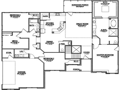 popular floor plans  popular ranch floor plans