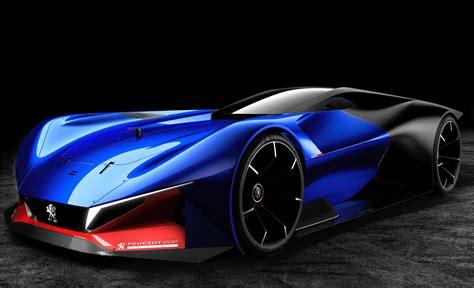peugeot concept car peugeot l500 r hybrid concept peugeot sports car youtube