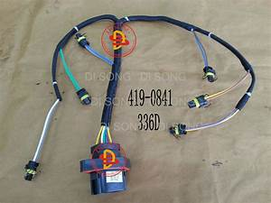 China Spare Parts  Engine Parts  Injector Wiring Harness