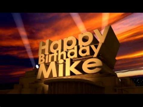 Happy Birthday Mike Images Happy Birthday Mike