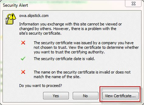 security certificate     trusted authority