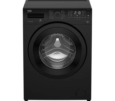 black washer and dryer buy beko wdx8543130b washer dryer black free delivery