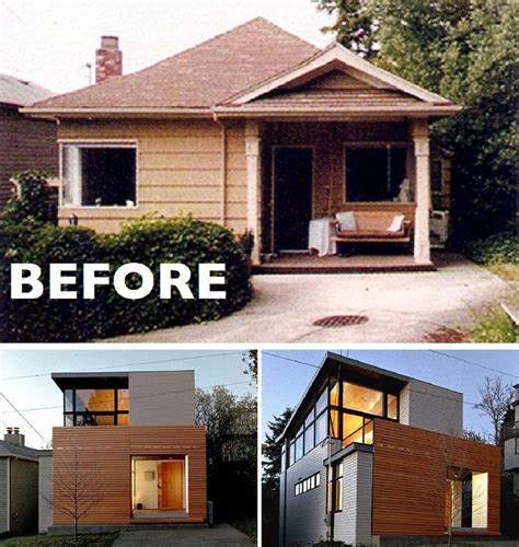 small house renovations before and after house renovation ideas 16 inspirational before after residential projects window