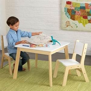 Tisch Mit Stühlen : kidkraft moderner tisch mit 2 st hlen 27025 aus holz pirum ~ Orissabook.com Haus und Dekorationen