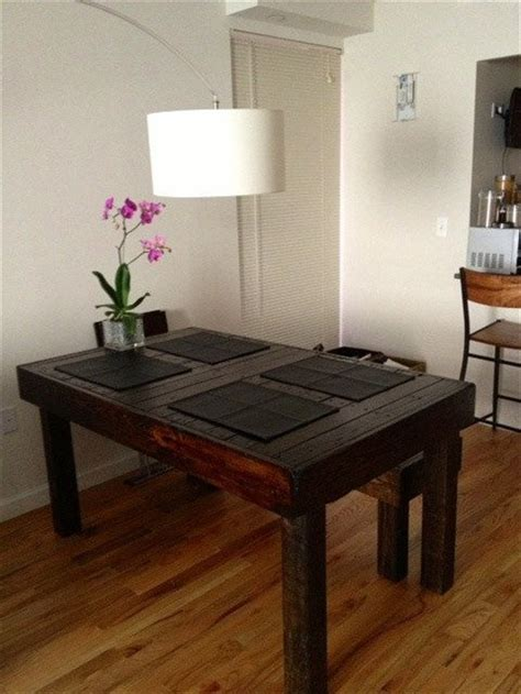 pallet dining room table decorate and make your pallet dining table unique wooden
