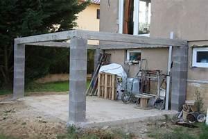 terrasse en hauteur beton evtod With terrasse en hauteur beton