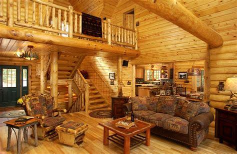 Homes Interiors - really nice log house