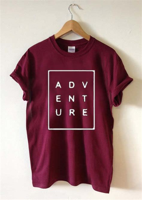 Tshirt Size S adventure font t shirt size xs s m l xl 2xl 3xl