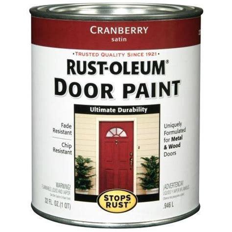 rust oleum 238314 door paint cranberry 1 quart new ebay