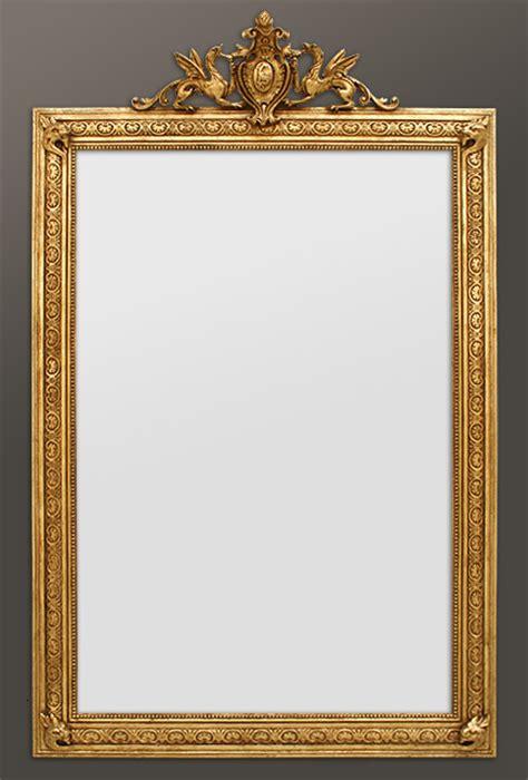 grand miroir chemin 233 e 224 fronton 233 poque nouveau