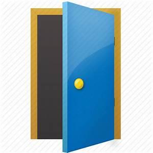 Book, door, exit, folder, open, open door, send icon ...