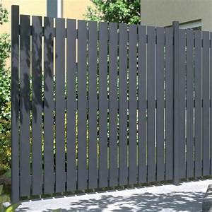 Sichtschutzzaun Holz 180x180 : sichtschutzzaun aus aluminium squadra anthrazit matt 180 x 180 cm ~ Frokenaadalensverden.com Haus und Dekorationen