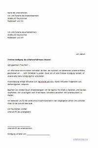 Kürzung Urlaub Elternzeit Berechnen : k ndigung schreiben arbeitsvertrag arbeitsrecht 2018 ~ Themetempest.com Abrechnung