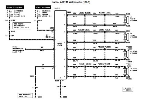 97 Ford Explorer Wiring Diagram by I Am Trying To Install An After Market Stereo In My 97