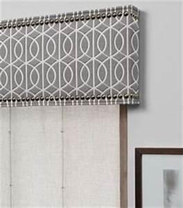 contemporary cornice | Gray Chevron Modern Cornice Board ...